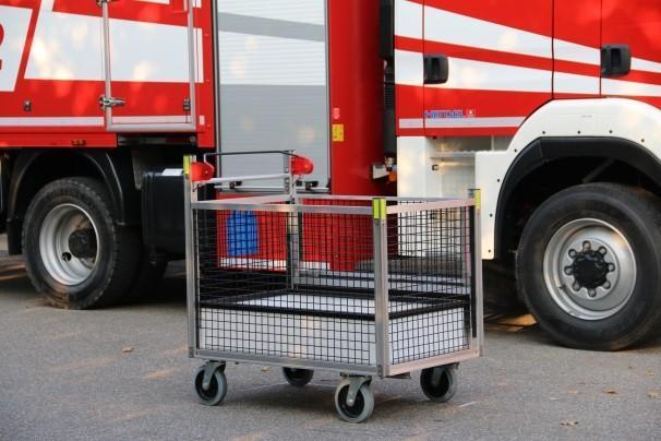 Rollwagen Gitterbox