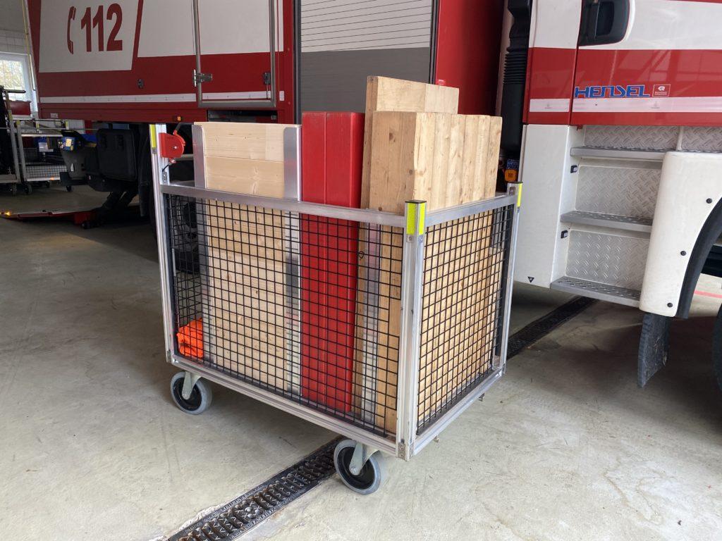 Rollwagen Rüstholz