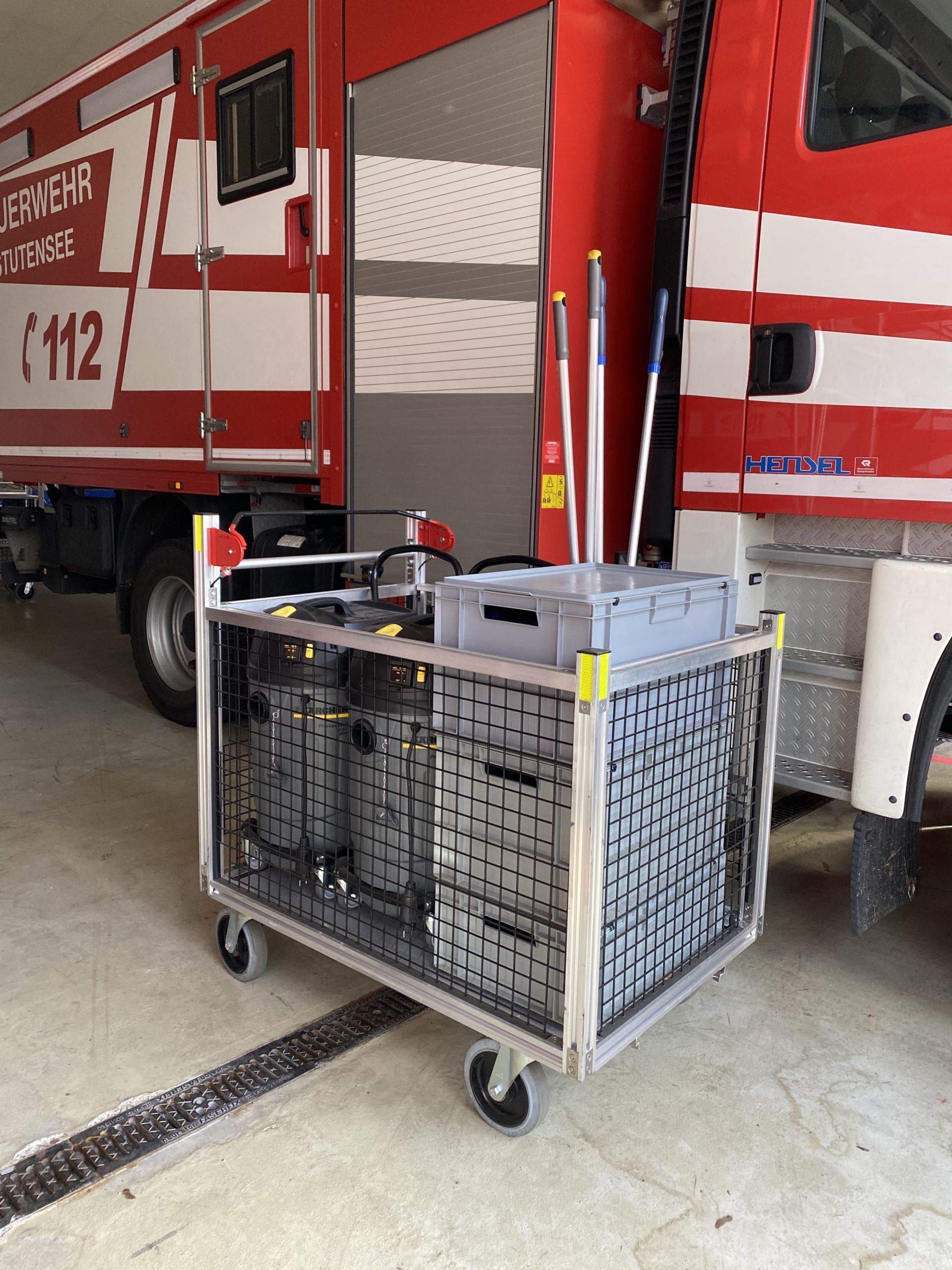 Rollwagen Wasserschaden 2