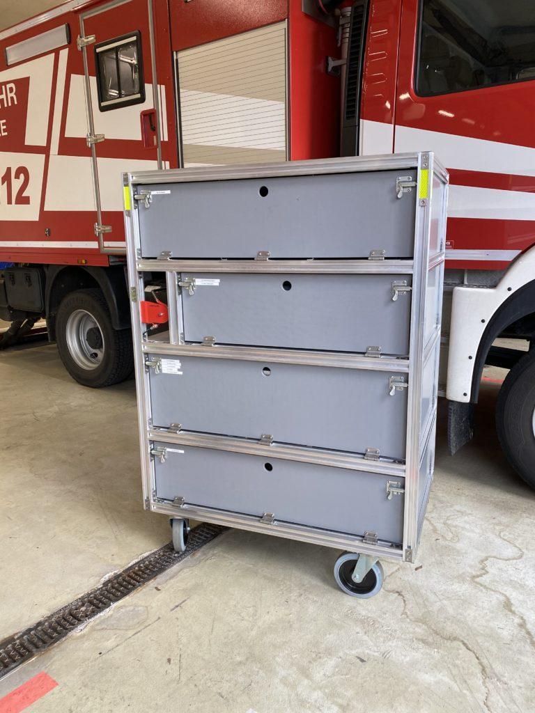 Rollwagen Atemschutz 1