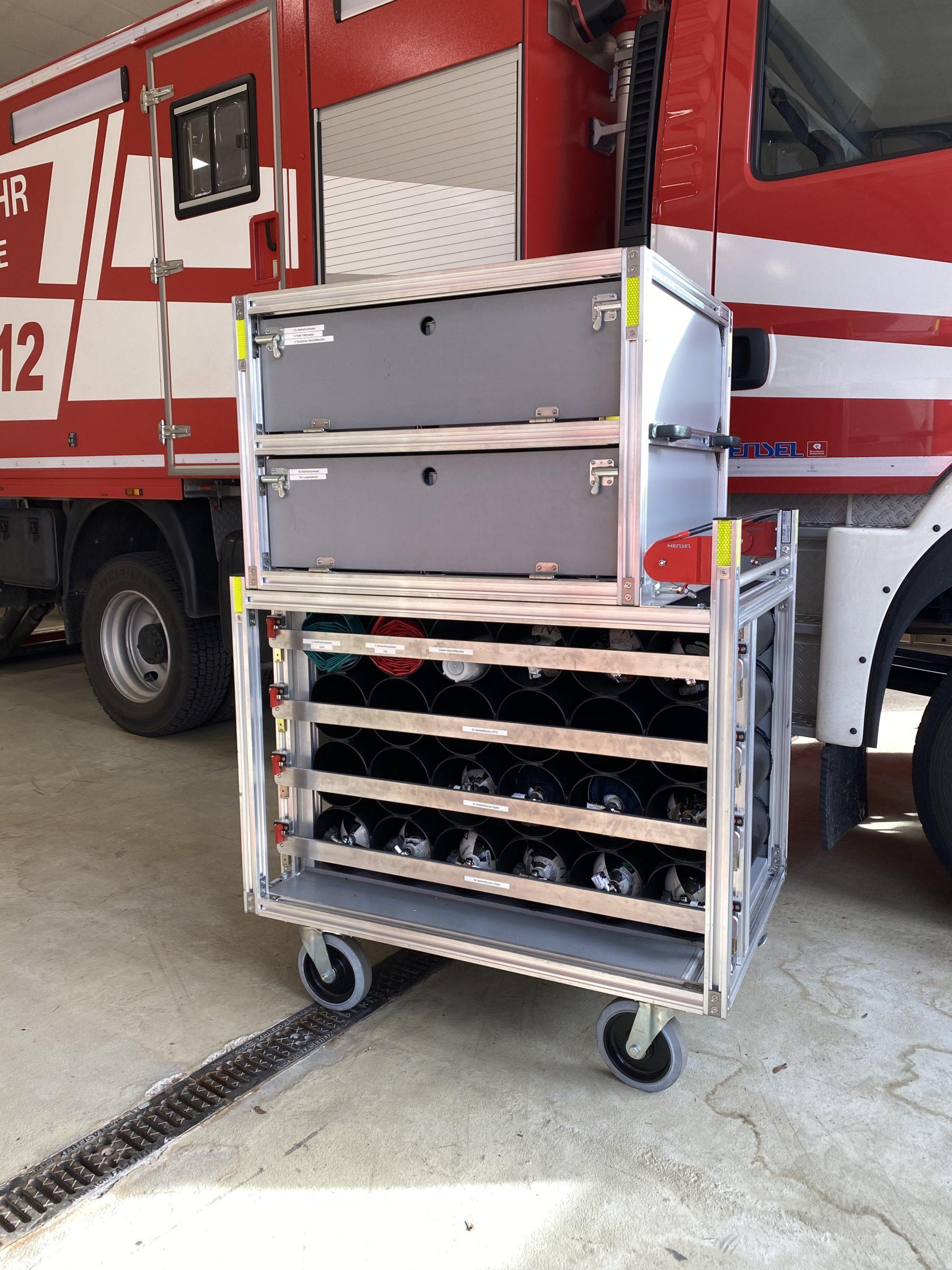 Rollwagen Atemschutz 2