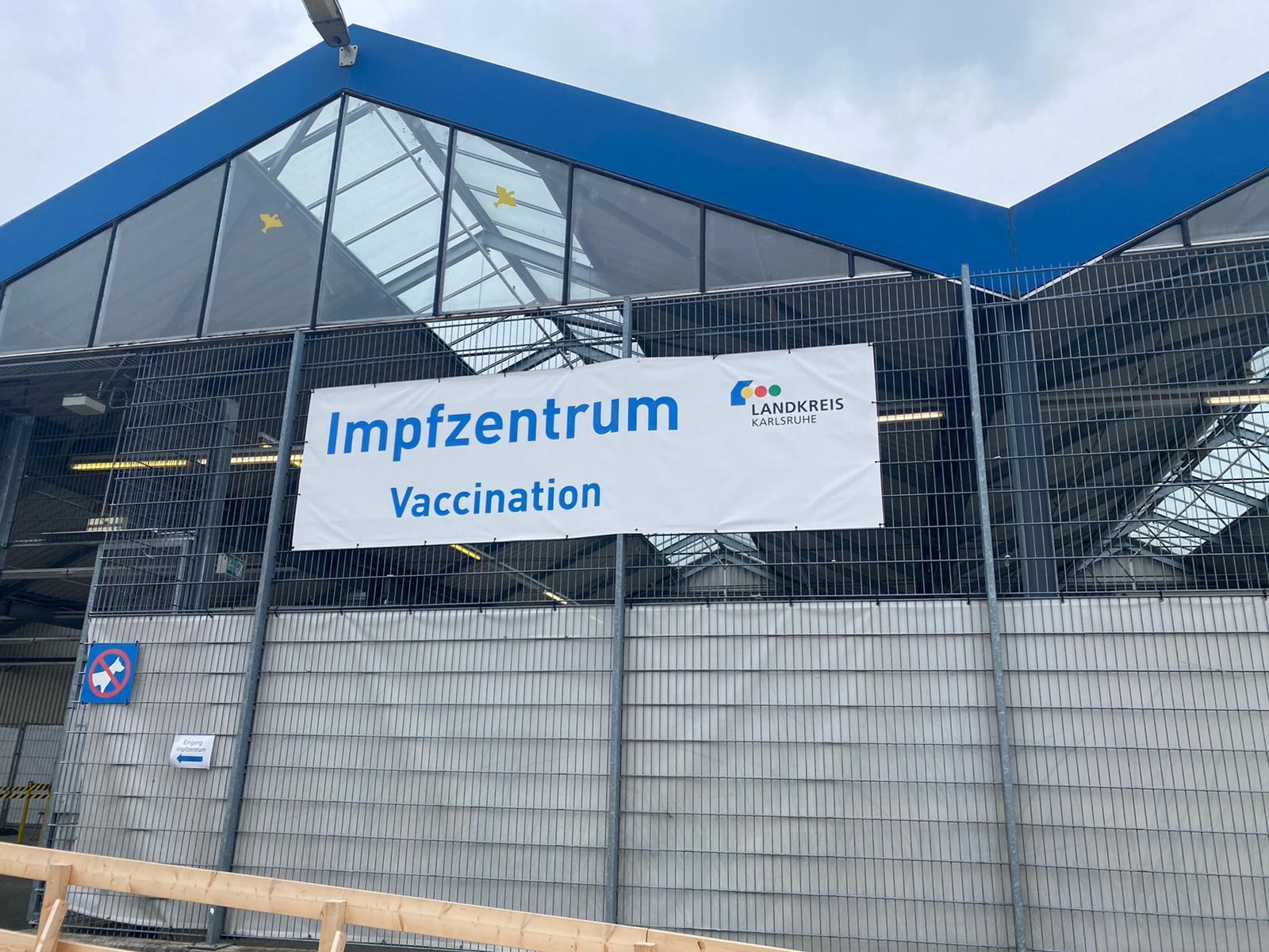 Kreisimpfzentrum Bruchsal-Heidelsheim